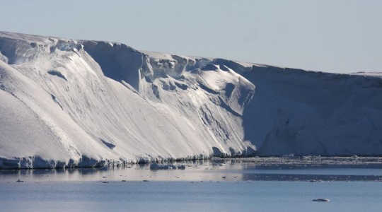 Totten glacier: expected to melt far faster than previously thought. Image: Esmee van Wijk/Australian Antarctic Division