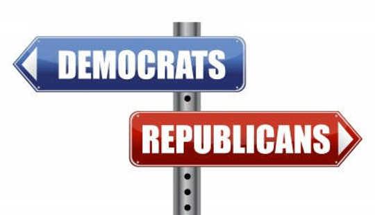 Hvorfor republikanere og demokrater lever i forskjellige økonomiske realiteter