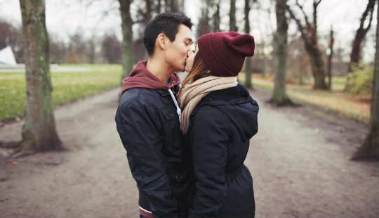hvor lenge skal vi være dating før kyssing