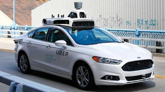 Driverless Uber-bilar kommer att störa delningsekonomin