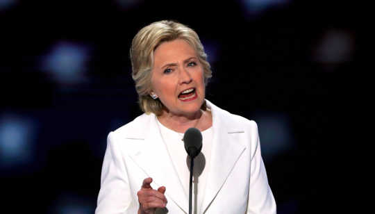 Clinton Vs. Trump: Ucapan Terima Kasih yang Hit The Right Note?