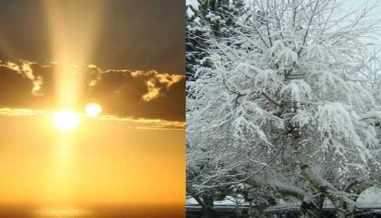 کیا انتہائی گرم مغرب اور سرد وسطی کا موسم سرما نیا امریکہ کا معمول ہے؟