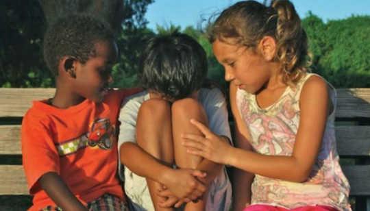 Hur lär barnen empati?
