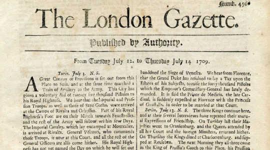 Bakit Nakita ng Mga Pag-uugali ng aming Mga Balita Isang Lot Tulad ng Britanya Sa 1655