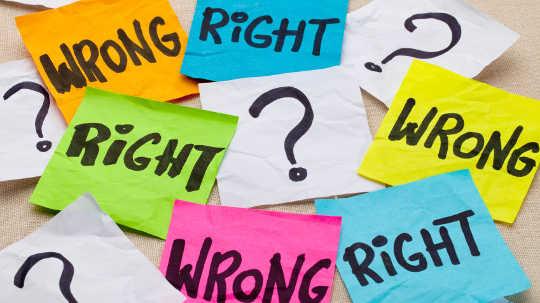 Miten Bias kohti tulevaisuutta voi pilkata moraalista tuomiota