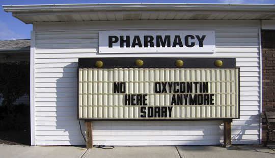 No OxyContin here. jennifer durban/Flickr, CC BY-NC