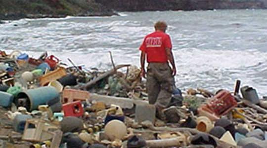 Veel meer Microplastics swaai in Oseane as gedink