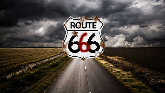 Rolling Down Route 666 Until The Dawn Arrives