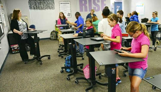 Why Standing Desks In Schools Are A Win Win