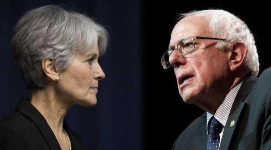 Maaari ba si Jill Stein ng Baton ni Bernie?