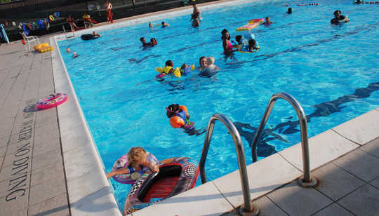 Swimming Pools Can Be A Major Source Of Gastrointestinal Illness
