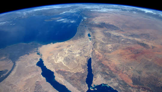 Changes To Syria's Land And Water Are Visible From Space