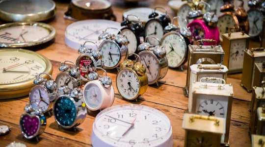 시간을 알려주는 간략한 역사