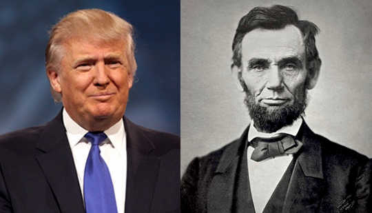 What Would Abraham Lincoln Say To A Donald Trump?