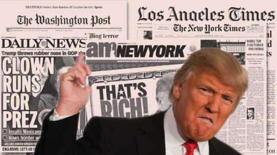 Teknik Tujuh Trump untuk Mengawal Media