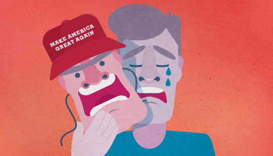 Arbeidsklassens sår skjult bak Trump Voters 'rasisme