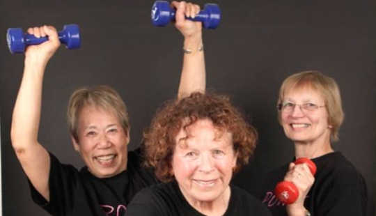 Older Adults Who Lift Weights Live Longer