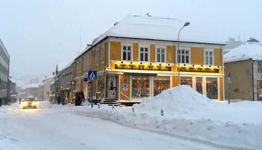 노르웨이 도시는 겨울 블루스에 대한 답변을 갖고 있습니까?
