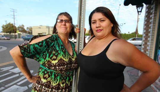Denise Barlage y Venanzi Luna. Liz Cooke, CC BY