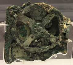 Mekanisme antikythera. Wikimedia Commons, CC BY