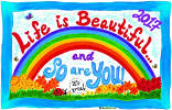 Life is Beautiful and So Are YOU! - 2017 Calendar