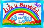Hidup itu Indah dan Jadi Apakah ANDA! - Kalender 2017