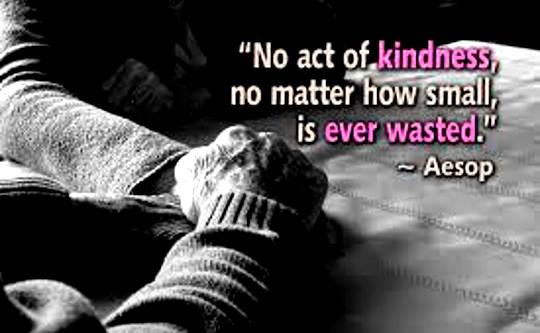 Hur man övar enkla handlingar av vänlighet