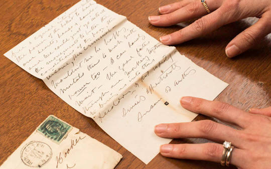 Lost Letters From Susan B Anthony Found In Old Barn Veranderen ons beeld van het vrouwenkiesrecht