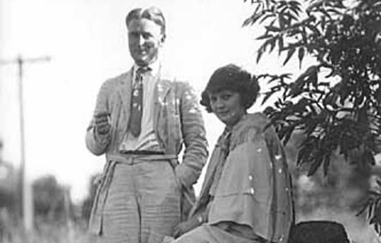 F. Scott Fitzgerald och fru, Zelda