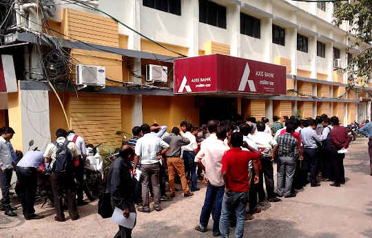 A Lesson From India: Why A Cashless Society Hurts The Poor