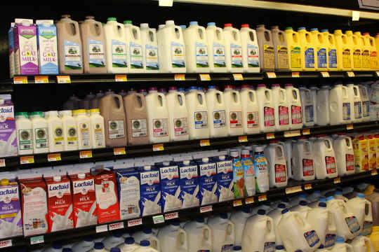 The average American consumes 620 pounds of dairy each year.