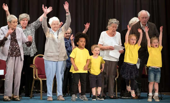 What Happened When We Introduced Four-year-olds To An Old People's Home
