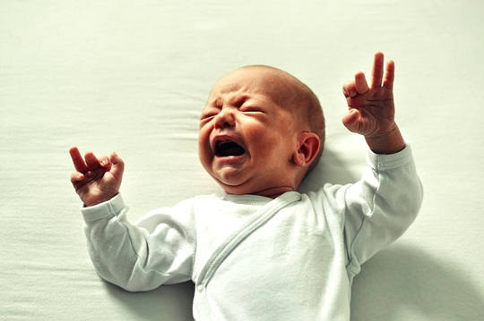 Are We Hardwired To Pick Up Crying Babies?