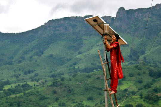 To Slow Climate Change, India Joins The Renewable Energy Revolution