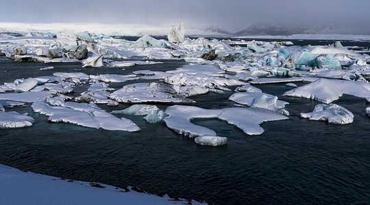 Polar See Ice bereik 'n rekord laag