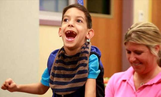 Videospel kan hjälpa barn med cerebral parese