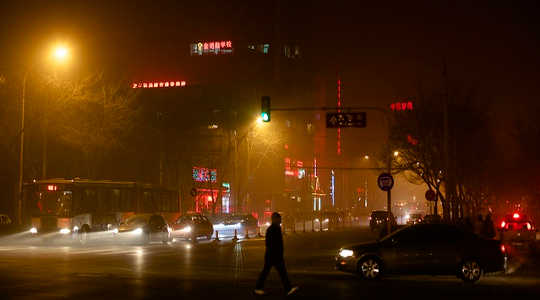 How China's Pollution Haze Is Linked To Climate Change