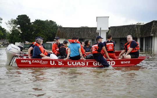 Ризик повені та урагану дуже сильно відрізняється по всій території США