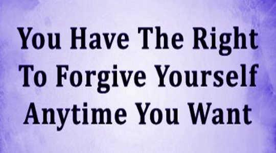 อย่างไรและทำไมคุณต้องให้อภัยตัวเองโดยสิ้นเชิง