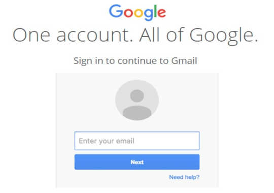 Isang hindi tumpak na pekeng pekeng Google sign-in page. Emma Williams, CC BY-ND