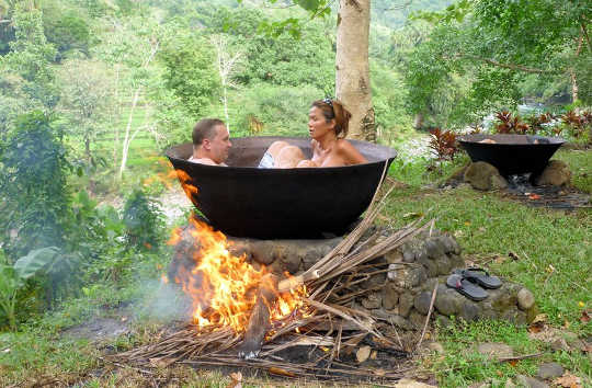 Waarom een warm bad voordelen heeft die vergelijkbaar zijn met lichaamsbeweging