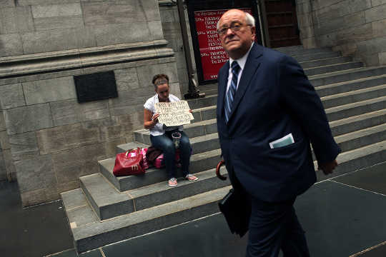 Inequality Is Getting Worse, But Fewer People Are Aware Of It