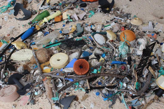 This South Pacific Island Of Rubbish Shows Our Plastic Habit