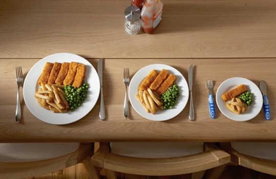 क्या छोटे प्लेट्स आपको कम खाएं?