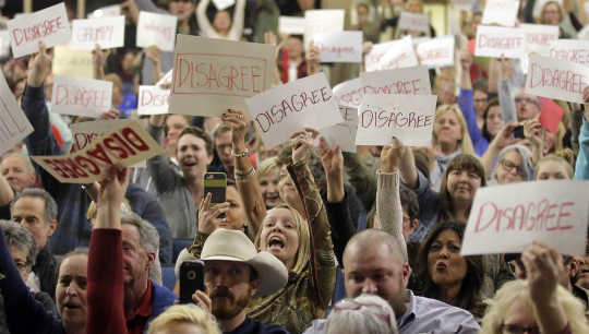 Town Hall Meetings Become The Indivisible Epicenters as 'The Resistance' Grows