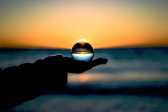 Sol de bola de cristal 2018