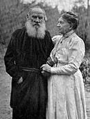 Leo Tolstoy och hans fru, Sophia Tolstaya