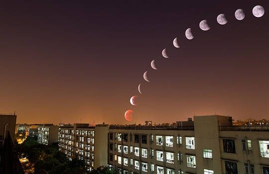 Eclipses y sus estaciones