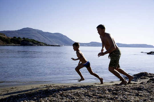 Yes, Your Kids Can Run All Day – They've Got Muscles Like Endurance Athletes