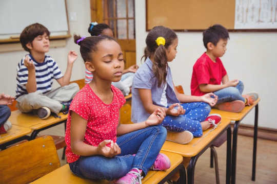 Meditation doesn't just help kids feel relaxed; neuroscience suggests that it changes the structure and function of the brain.